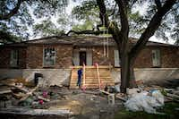 <div>The Houston area is attempting to both recover from Harvey and be prepared for more massive flooding by raising homes and other buildings.</div>(Smiley N. Pool/Staff Photographer)