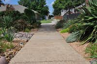 A water-wise landscape design along a driveway(Stephanie Briggs)
