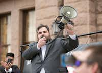 State Rep. Jonathan Stickland, R-Bedford, is a member of the 12-member conservative Freedom Caucus in the Texas Legislature. He's a provocateur who specializes in disruption to promote his views. (American-Statesman/Jay Janner)