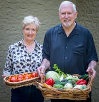 Becky Murphy and her husband Keith Marton have practiced intermittent fasting off and on for several years. They make sure to eat plenty of fresh vegetables to keep their weight in check.(Robert W. Hart/Special Contributor)