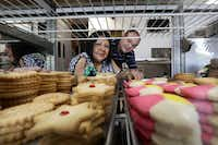 Caty and Danny Graves of La Poblanita Bakery in Dallas(Jason Janik/Special Contributor)