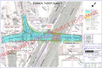 The Lakewood group favors Option 1 for the rebuild, saying that traffic diverted onto Gaston Avenue would be kept to a minimum by keeping the intersection of Garland Road and Grand Avenue a straighter shot.