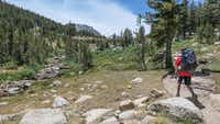 While not steep, the approach to the Vogelsang High Sierra Camp is in thin air, so give yourself time to acclimate.(Brian Irwin/Special Contributor)