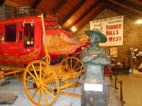The Pawnee Bill Museum has exhibits from both the Pawnee Bill and Buffalo Bill Wild West shows.(Mike Coppock/Special Contributor)