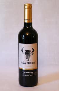 Vina Fuerte La Mancha Tempranillo (Spain)(Alfonso Cevola/Special Contributor)