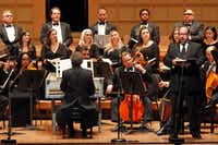 <p>The Dallas Bach Society will present its annual rendition of Handel's Messiah on Dec. 23 at the Meyerson Symphony Center.</p>(Ben Torres/Special Contributor)