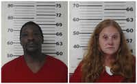 Tommy Lee Anderson and  Leonnia Darlene Castillo(Henderson County Sheriff's Office)
