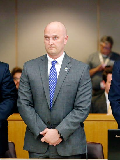 Ex-cop Roy Oliver found guilty of murder, could face life for