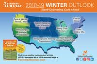 The almanac predicts a harsh winter for most of the country.(Farmer's Almanac)