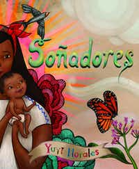 "<p>Yuyi Morales' <em style=""font-size: 1em; background-color: transparent;"">Dreamers&nbsp;</em>is available in Spanish as<i>&nbsp;Soñadores</i>. (Holiday House)</p>"