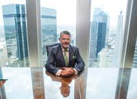 Brad Heppner, CEO of Beneficient Group, is building a new financial services firm in Dallas that serves the nation's growing number of millionaires. (Carly Geraci/Staff Photographer)