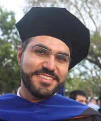 Saeed Moshfegh is an Iranian who's getting his Ph.D. in physics at the University of Miami.(Miami Herald)