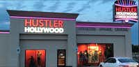 Hustler Hollywood, the sex toy store of infamous porn magazine publisher Larry Flynt, who rose to fame in the 1970s for his <i>Hustler </i>magazine, opened in Dallas in August. Flynt is scheduled to make an appearance at the store at 9341 Lyndon B. Johnson Freeway on Sept. 15.(Courtesy photo/Hustler Hollywood)