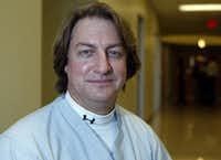 Dr. Richard Toussaint. (John F. Rhodes / The Dallas Morning News)(JOHN F. RHODES/Staff Photographe)