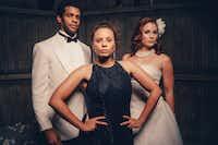 Ryan Woods, Morgana Wilborn and Nikki Cloer in <i>An Octoroon </i>(Photo by Evan Michael Woods)