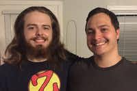 Jacoby Stoneking (left) and his brother Chris Phillips(Courtesy: GoFundMe)