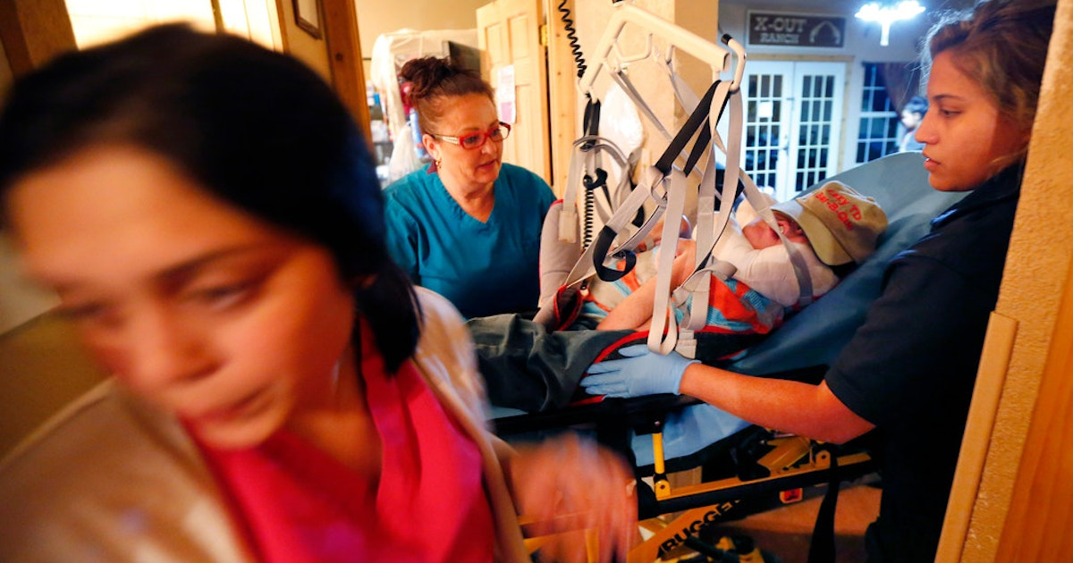 Inside 'Careville,'where one Texas foster mom and an army of nurses keep sickfoster kids alive