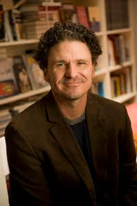 Dave Eggers at his office in San Francisco in 2012. (PAOLO VESCIA/NYT)