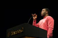 Botham Shem Jean loved singing and music.(JEFF MONTGOMERY/Harding University)