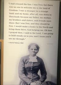 "<p><span style=""font-size: 1em; background-color: transparent;"">The Harriet Tubman Underground Railroad National Historical Park in tiny Church Creek, Md., tells the story of the brave abolitionist who risked her life repeatedly to ferry slaves to freedom. </span></p>(Keven Ann Willey/Special Contributor)"