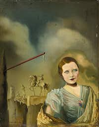 "The 1934 work <i>Portrait of a Woman</i>&nbsp;is among seven works from private collectors in the exhibition.&nbsp;(<p><span style=""font-size: 1em; background-color: transparent;"">Gala-Salvador Dalí Foundation</span></p>/Private collection)"