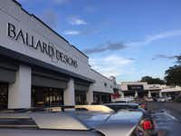 Atlanta-based home furnishings retailer Ballard Designs opened its first Dallas store on Sept. 5, 2018. The 12,000-square-foot store is in Preston Royal Village which has gone through a renovation in the past 18 months. Other new tenants include Sur La Table, Eatzi's, Sephora and Paper Source.(Maria Halkias/Staff)