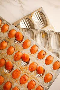 Honey Sriracha madeleines (Rose Baca/Staff Photographer)