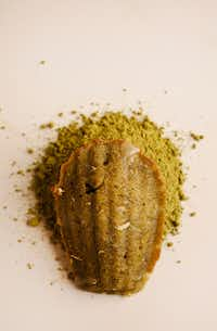 Matcha madeleine (Rose Baca/Staff Photographer)