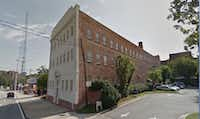 This apartment building in the Buckhead section of Atlanta was once headquarters of the national KKK.(Google Street View)