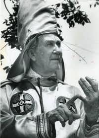 James Venable was Imperial Wizard of the National Knights of the Klan.(The Atlanta Journal-Constitution)