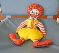 A stuffed Ronald McDonald character in The McFly.(Brian Elledge/Staff Photographer)