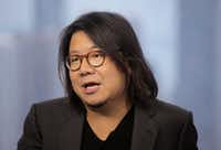 Singaporean novelist Kevin Kwan talks during an interview in Hong Kong. AP Photo/Vincent Yu, File(Vincent Yu/AP)