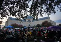 The 4th Annual Fair Park Blues & Jazz Festival outside the African American Museum in Fair Park last September(Lawrence Jenkins/Special Contributor)
