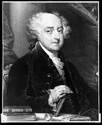 John Adams, the second president of the United States, 1797-1801(Library of Congress)