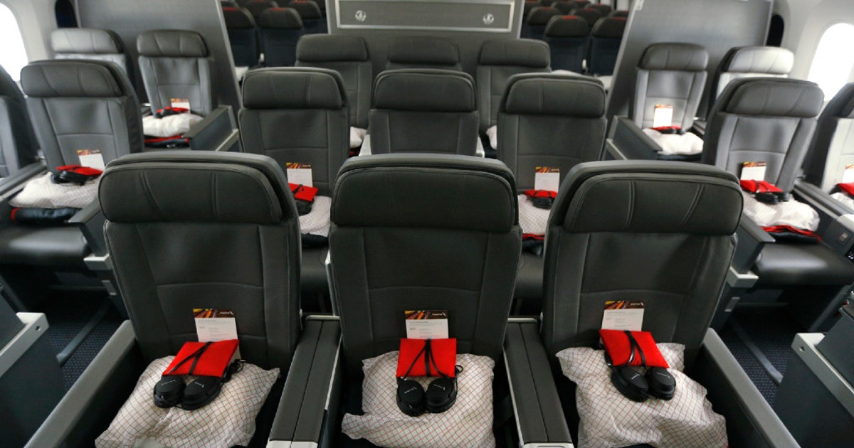 American Airlines To Remove Business Class Seats Make More Room For Premium Economy