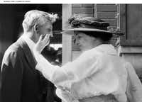 <p>Helen Keller, who became blind and deaf before the age of 2, used touch to interpret the words of automobile magnate Henry Ford when they met in Detroit in 1914.</p>( /Business Wire)