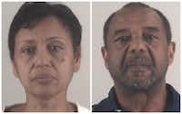 Denise Cros-Toure and Mohamed Toure(Tarrant County Sheriff's Department)