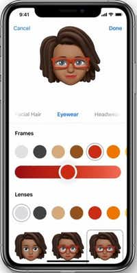 You can create your own animated emoji, which Apple calls Memoji.(Apple)