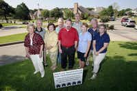 Friends of South Garland members opposed an earlier redevelopment plan for the Eastern Hills Country Club property in 2015. (Ben Torres/Special Contributor)