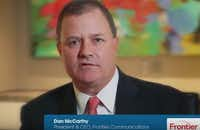 "Frontier CEO Dan ""The Disappearing Man"" McCarthy(Screen shot from company video)"