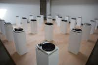 """Dallas artist Lauren Woods shut down the """"American Monument"""" exhibition after the museum's art director was fired.(Drew A. Kelley/Special Contributor)"""