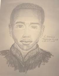 Police sketch of a suspect in two aggravated sexual assaults in Far North Dallas.(Dallas Police Department)