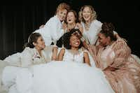 <p>The cast of Dallas Theater Center's production of<i>Steel Magnolias</i>:(top row, from left) Nance Williamson, Ana Hagedorn, Sally Nystuen Vahle, (bottom row, from left) Christie Vela, Tiana Kaye Blair and Liz Mikel.The show runs Sept. 28-Oct. 21 at Wyly Theatre.</p>(Evan Michael Woods)