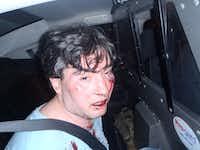Jon McDonald after his August 15, 2014, arrest(Courtesy/Jon McDonald)