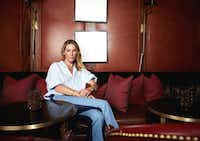 Irving-born model Erin Wasson, photographed exclusively for <i>The Dallas Morning News</i> at Rosewood Mansion on Turtle Creek(Steven Visneau/Sisterbrother Mgmt.)