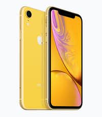 Apple's iPhone XR in yellow.(Apple)