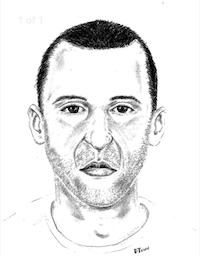 Police release a sketch of the suspect this week.(Dallas Police Department)