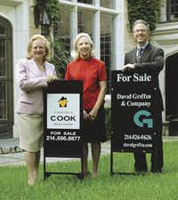 Virginia Cook (left) and Sheila Rice, co-founders of Virginia Cook Realtors, and David Griffin of David Griffin & Co. joined forces in 2010..(Virginia Cook Realtors)