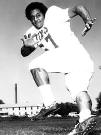 Julius Whittier was recruited by the University of Texas despite his relatively small size and would  eventually be inducted into the Longhorn Hall of Honor.<br>(UT Sports Photo/Digital FIle)