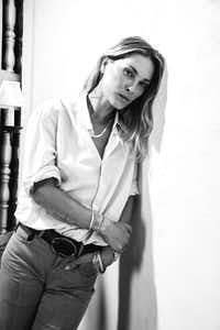 Erin Wasson, photographed exclusively for The Dallas Morning News at the Rosewood Mansion on Turtle Creek(Steven Visneau/Sisterbrother Mgmt.)